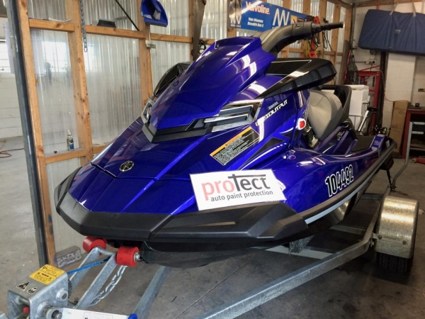 Jet Ski with paint protection film