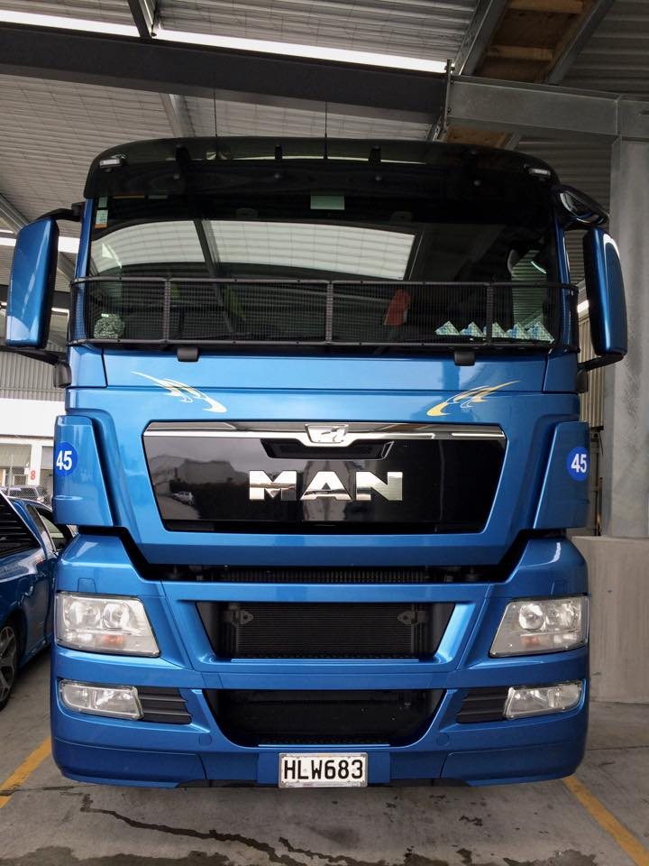 Man Truck paint protection film