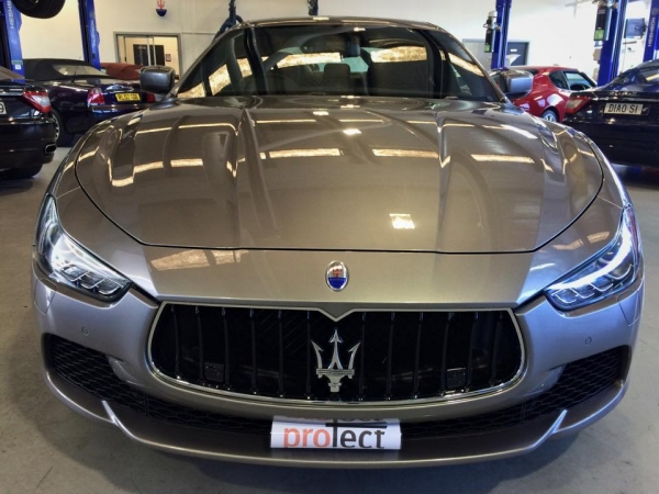 Maserati with paint protection film